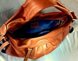 Sac-Lancel-cuir-cuivre-etat-Neuf-Handbag-tasche-borsa