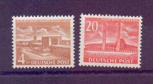 Berlin-1953-Berliner-Bauten-MiNr-112-113-postfrisch-Michel-70-00-247