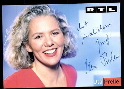 2019 Mode Uta Prelle Rtl Autogrammkarte Original Signiert ## Bc 52589 QualitäT Zuerst