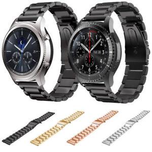 Acier Inoxydable Montre à Bracelet Bande Pour Samsung Galaxy Gear S3 Frontier S3 Classique-afficher Le Titre D'origine Et D'Avoir Une Longue Vie.