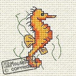 Seahorse by Mouseloft Counted Cross Stitch Kit