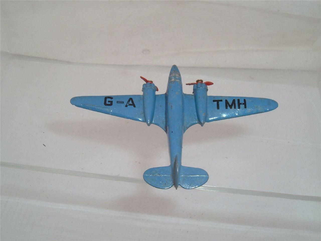 DINKY TOY 62M G-A TMH LIGHT TRANSPORT AEROPLANE ORIGINAL USED CONDITION SEE PICS