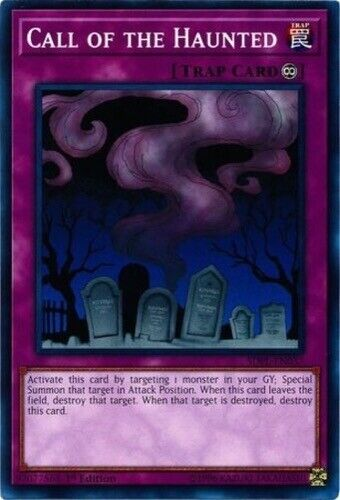 SDPL-EN037 1st Edition 3 x Call of the Haunted - Common