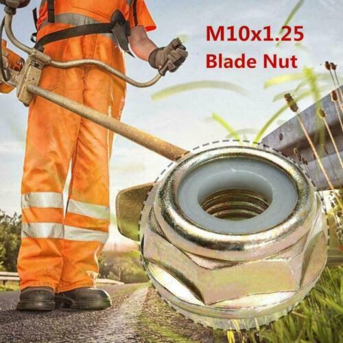 Universal M10x1.25 Left Hand Thread Nut For Strimmer Brush Durable Trimmer H0M0