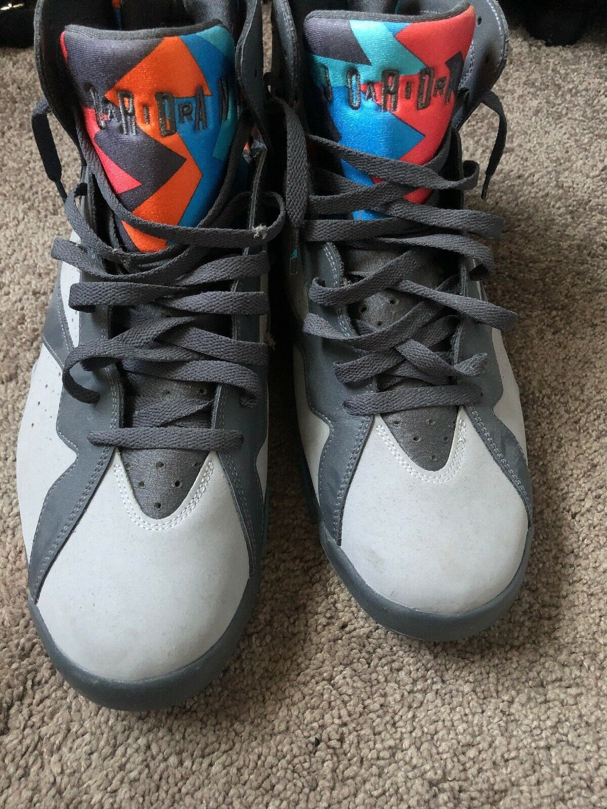 59bfdc583 AIR JORDAN 13 XIII RETRO CP3 PE 823902-015 HORNETS AWAY NEW SIZE 10.5 DS