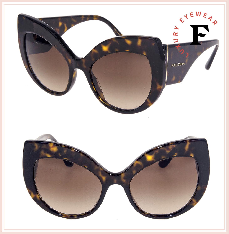 DOLCE & GABBANA PRINT FAMILY 4321 Tortoise Brown Oversized Sunglasses DG4321S