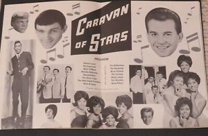 1963-Dick-Clark-Caravan-of-Stars-Concert-Program-Supremes-Shirelles-Gene-Pitney