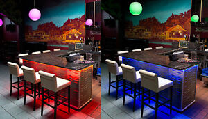 5m colour changing led strip ideal for home bar pub shed strip