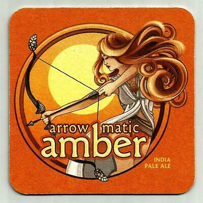 16 Arrow Matic Amber IPA  Beer Coasters  Aldus Brewing Co Hanover Pa