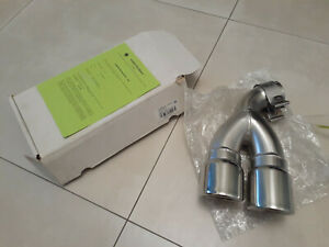 13-17 Volkswagen Golf Tail silencer trim with Y-adapter 5G0071905E