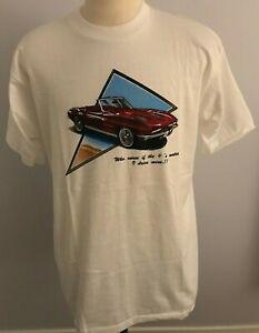 "Black//White Felix Chevrolet 2020 Corvette Red /""Metal Flake/"" Mens T-Shirt"