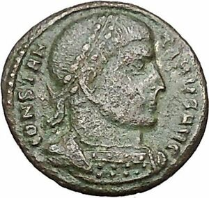 Constantine-I-the-Great-319AD-Rare-Ancient-Roman-Coin-Victory-Nike-Cult-i40748