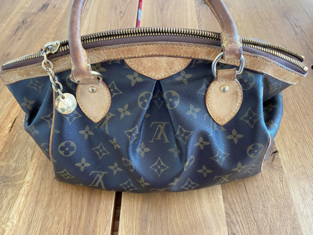 Skuldertaske, Louis Vuitton, kanvas, Louis Vuitton - Tivoli…