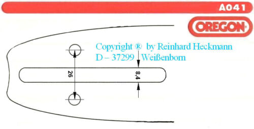 "QuickSet OREGON Schwert 35cm INTENZ-System + 4 Ketten 3//8/""-52Tg DOLMAR MAKITA"