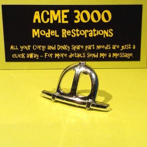 Corgi 801 Noddy Noddy/'s Car Reproduction Repro Chrome Grille /& Short Bumper