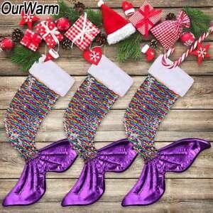 image is loading big christmas gift bag sparkly mermaid tail christmas - Big Christmas Gifts
