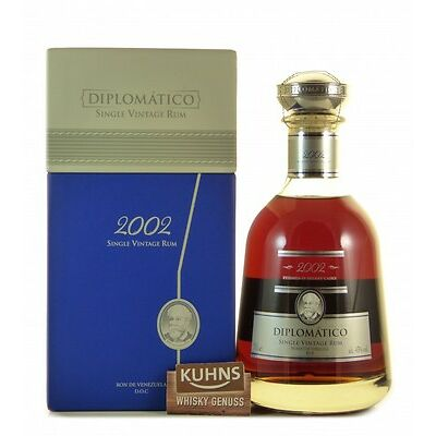 Diplomatico 2002 Single Vintage Rum 0,7l, alc. 43%, Rum Venezuela