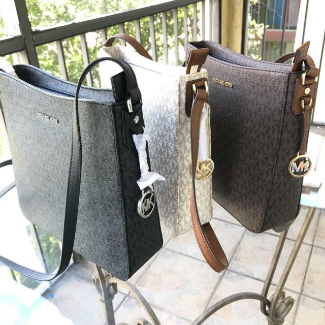 Michael Kors Women PVC Leather Messenger Crossbody Handbag Purse Bag Shoulder MK