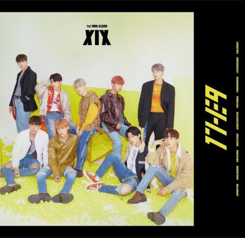 1THE9 - XIX (1st Mini Album) CD+104p Booklet+2Photocard+12Lyrics Book+Poster