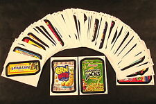 2012 Topps Wacky Packages ANS9 Series 9 COMPLETE BASE SET of 55 stickers nm+