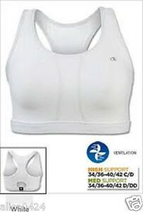 9c606041fd Image is loading Champion-Wirefree-Mesh-Vented-Compression-Sports-Bra-Small-