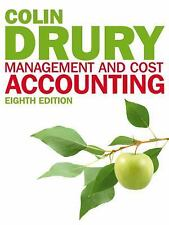 Management and Cost Accounting 8th Edition by Drury (AC)