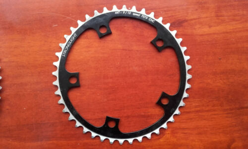 Stronglight Zicral 9 10 chainring 56t 44t 130mm bcd Mygal cranks 172.5mm bolts