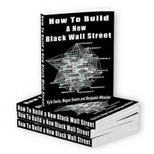 How to Build a New Black Wall Street - eBook PDF