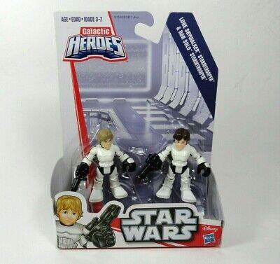 Playskool Star Wars Galactic Heroes Death Star Escape Luke Han Disguise Chewy