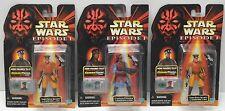 Star Wars Naboo Army Builder Lot Royal Security Panaka 3 X Action Figures NIP