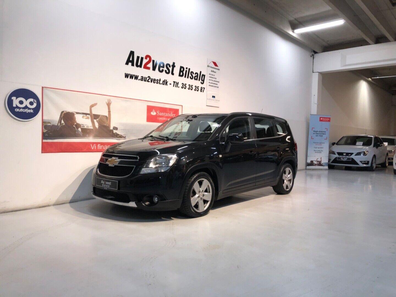 Chevrolet Orlando 2,0 VCDi 163 LTZ aut. 7prs 5d
