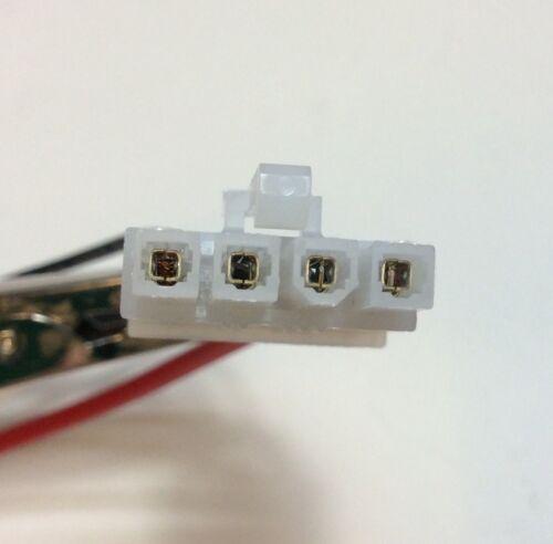 Set Of 2 TM8105 TM8110 TM8115 TM8235 Tait 2-way Radio Power Leads Speaker