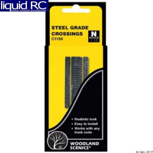 Woodland Scenics C1150 N Grade Crossing Steel Plate