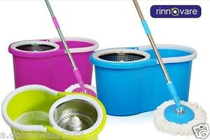 Easy mop 360 Degree Spin Magic with steel bucket,best deal in lowest price
