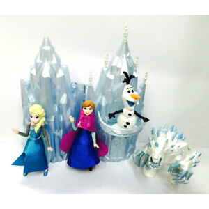 5-pcs-Frozen-Figures-w-Castle-Elsa-Anna-Olaf-Birthday-Party-Cake-Toppers