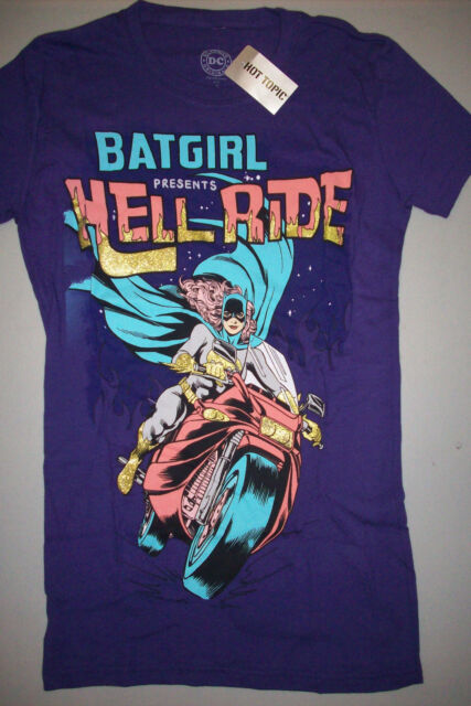 DC Comics Batgirl Glitter Hell Ride T-Shirt