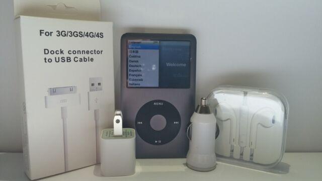 Apple iPod Classic 5, 6, & 7th Generation 30GB, 60GB, 80GB, 120GB, 160GB