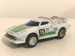 Die Cast Metal Pull-Back Action Lancia Stratos Monte Carlo Rally Racing Car