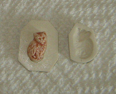 Classic Cool Spiral Cat Polymer Clay Push Mold MUST SEE