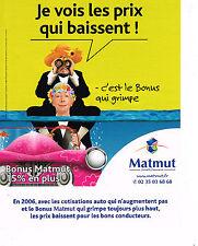 PUBLICITE ADVERTISING 104  2005  MATMUT  assurances CHEVALIER & LASPALES 2