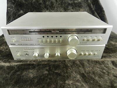 SABA Integrated Amplifier CI 300 + Tuner CT 300