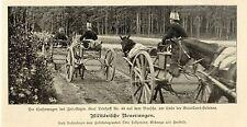 Militärische Neuerungen Wasserwagen Historische Aufnahme von 1901