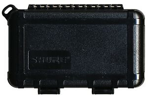 Shure-Black-Lavalier-Microphone-Travel-Storage-Case-with-Latches