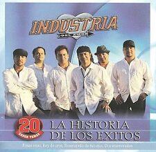 FREE US SHIP. on ANY 2 CDs! NEW CD Industria Del Amor: Historia De Los Exitos