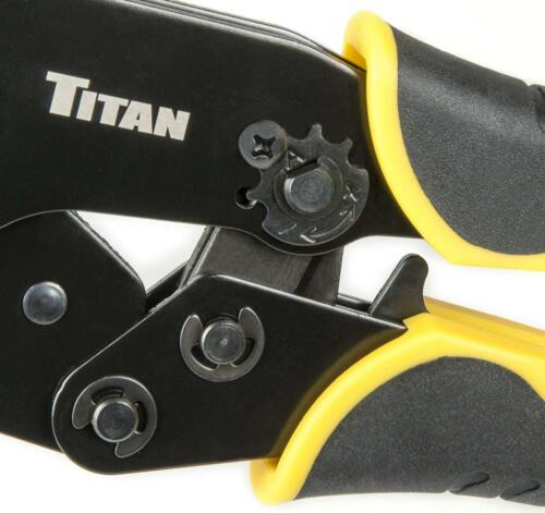 Titan Tools 11955 Ratcheting Heat Shrink Terminal Crimper