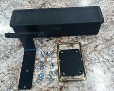New Oem Genuine Kioti Black Plastic Tool Box Cka115 Includes Hardware Brackets