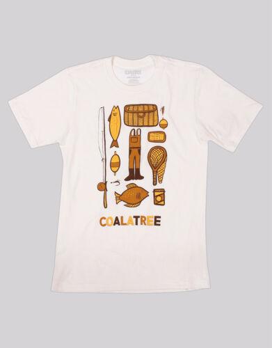Brand New Coalatree Weekender T-Shirt White,Size S-XL