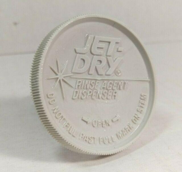 OEM GE WD12X10122 Rinse Aid Dispenser Cap