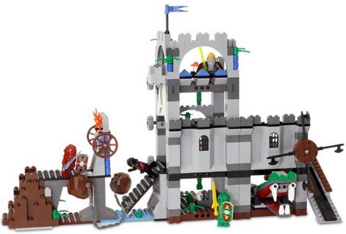 LEGO 8780 - CASTLE - KNIGHTS KINGDOM CITADEL OF ORLAN - Rare / RetiROT