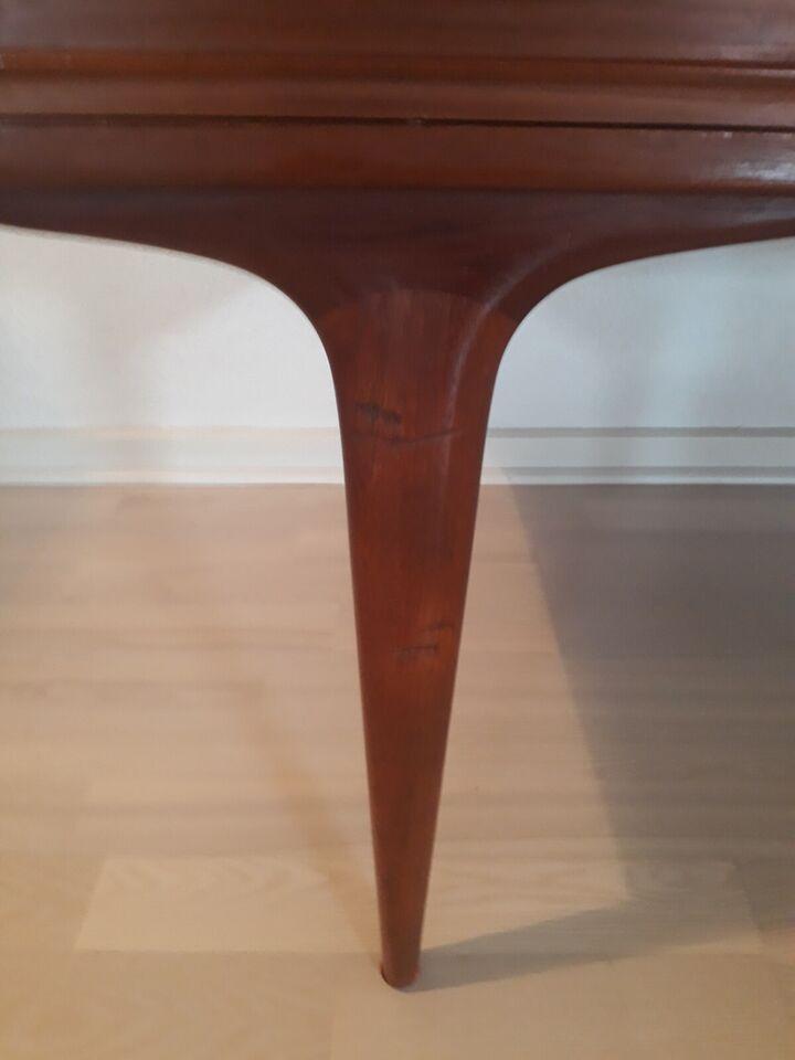 Sofabord, Teaktræ fra 1960'erne